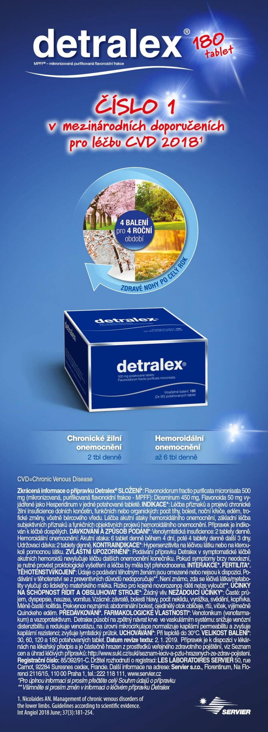 Servier Detralex