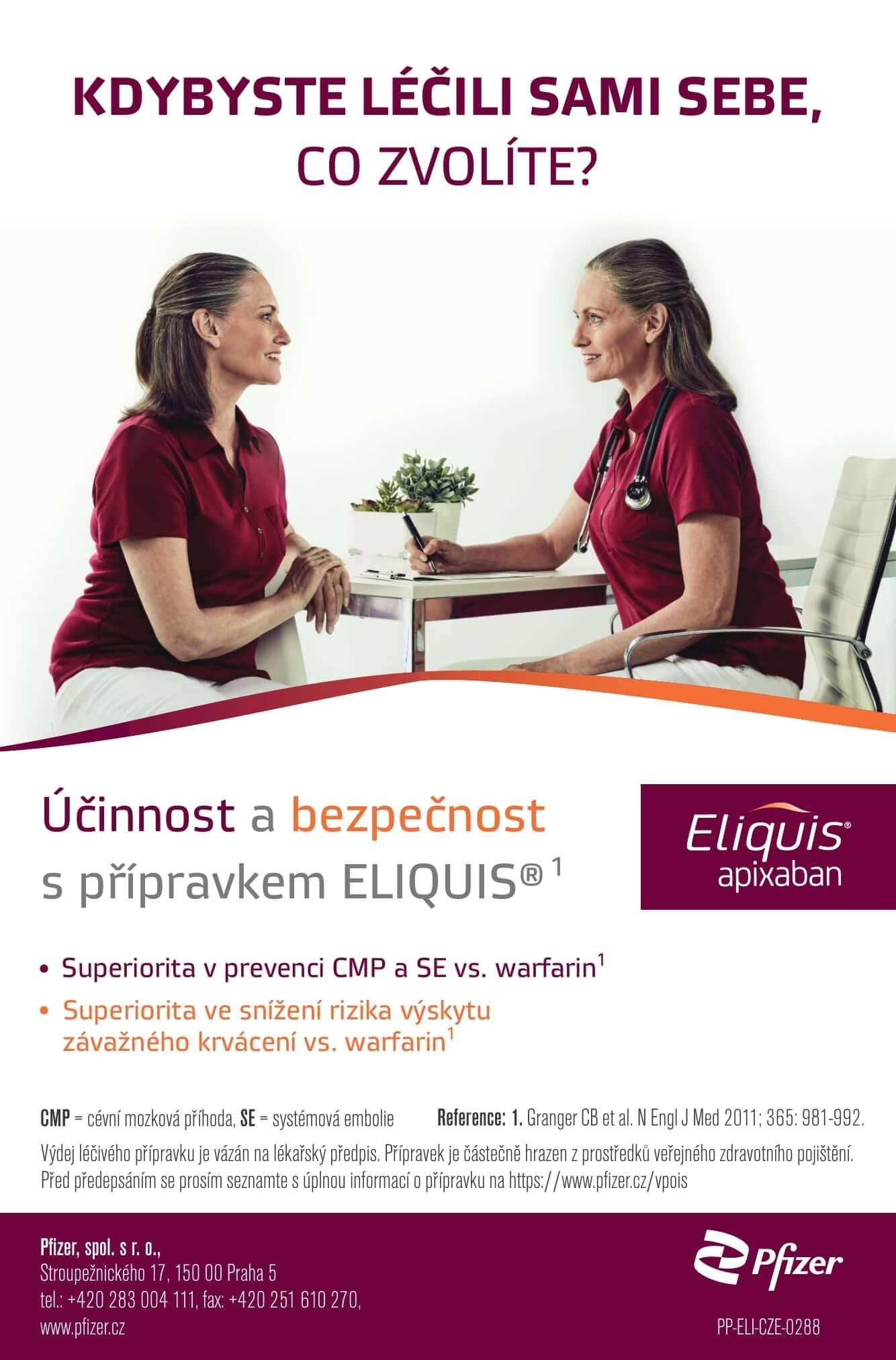 Pfizer - Eliquis